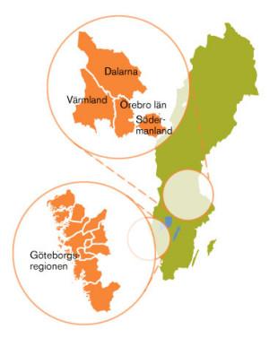 Här finns fakta och statistik om 64 kommuner.